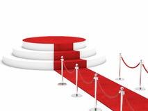Czerwony chodnik Fotografia Stock