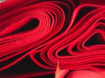Czerwony chodnik obraz stock