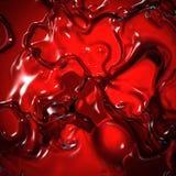 czerwony ciekłej Obraz Royalty Free