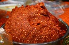 Czerwony Curry Obrazy Stock