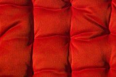 czerwony cushion2 Zdjęcia Stock