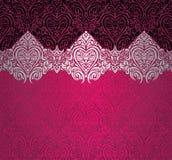 Czerwony & czarny modny rocznika projekt Obraz Royalty Free