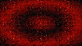 Czerwony czerni horizontally prostokątny obrączkowaty textured niewygładzony tło ilustracji