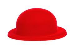 Czerwony dęciaka kapelusz Fotografia Stock