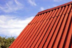 czerwony dach Fotografia Royalty Free