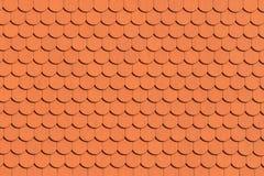 Czerwony dachowej płytki wzór zdjęcie royalty free