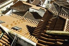 czerwony dachy Fotografia Stock