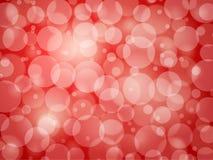 Czerwony defocus abstrakta tło Fotografia Royalty Free