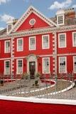 Czerwony dom Youghal Irlandia zdjęcie stock
