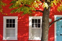 czerwony domowa Zdjęcia Royalty Free