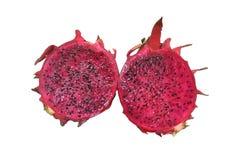 Czerwony dragonfruit Zdjęcia Royalty Free
