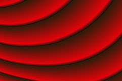 czerwony draperii Obraz Royalty Free