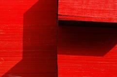 czerwony drewna Obrazy Stock