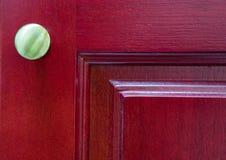 Czerwony Drewniany Gabinetowy abstrakt II Fotografia Royalty Free
