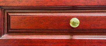Czerwony Drewniany Gabinetowy abstrakt IV Obraz Stock