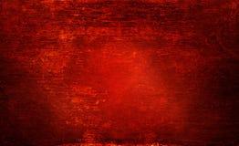 Czerwony drewniany przegniły tekstury grunge, abrazja na oświetleniu dla tła i fotografia stock