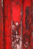 Czerwony drewniany tło Zdjęcie Stock