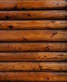 czerwony drewno Fotografia Royalty Free