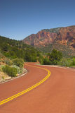 czerwony droga w górę Zdjęcia Stock