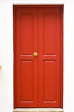 Czerwony Drzwi Fotografia Stock