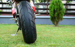 Czerwony Ducati 996s motocykl Zdjęcia Stock