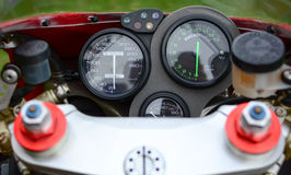 Czerwony Ducati 996s motocykl Zdjęcie Royalty Free