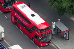 Czerwony dwoistego decker autobus Londyn Zdjęcia Royalty Free