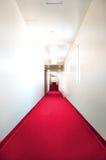 czerwony dywan Obraz Royalty Free