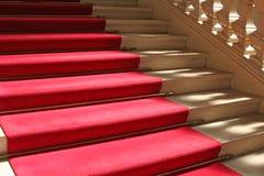 czerwony dywanowa Zdjęcie Royalty Free