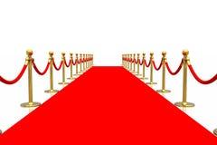 czerwony dywanowa Zdjęcia Royalty Free