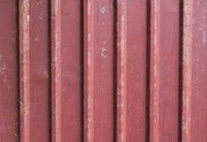 Czerwony econrib dachu grunge tekstury tło Zdjęcia Stock