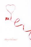 czerwony faborek Fotografia Royalty Free