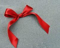 czerwony faborek Zdjęcia Royalty Free