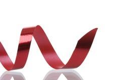 czerwony faborek Fotografia Stock