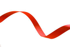 czerwony faborek zdjęcia stock