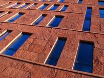czerwony fasadowa Zdjęcia Stock