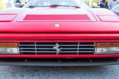 Czerwony Ferrari zdjęcia royalty free