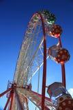 Czerwony Ferris koło Zdjęcia Stock
