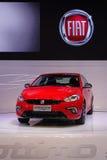 Czerwony Fiat ottimo Zdjęcia Royalty Free