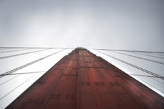 Czerwony filar Zdjęcie Stock