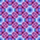 Czerwony fiołek i błękitny kolor Fotografia Stock