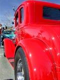 Czerwony Ford 5 okno coupe zdjęcia stock