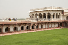 Czerwony fort Agra Fotografia Royalty Free