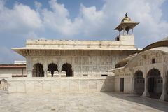 Czerwony fort, Agra, Uttar Pradesh, India Obrazy Royalty Free