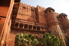 Czerwony fort, Agra, Uttar Pradesh, India. Zdjęcia Royalty Free