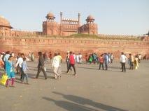 Czerwony Fort India Fotografia Royalty Free