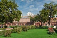Czerwony fort lokalizować w Agra, India Zdjęcie Royalty Free