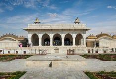Czerwony fort lokalizować w Agra, India Fotografia Stock