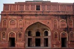 Czerwony fort lokalizujący w Agra, India Zdjęcie Stock