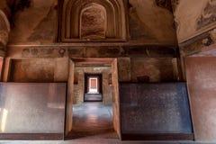 Czerwony fort lokalizujący w Agra, India Obraz Stock